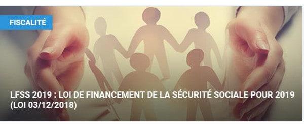 9faf6b4e02c LFSS 2019   loi de financement de la sécurité sociale pour 2019 (Loi ...